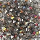 #04.01 - 25 Stück - 4,0 mm Crystal Bicone Crystal Marea