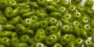 #42 10g SuperDuo-Beads opak olivine