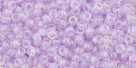 10 g TOHO Seed Beads 11/0 TR-11-0477 D - Tr. Rainbow Foxglove (E)