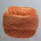 5g Spitzen-Häkelgarn Venus Stärke 70 N°170 Orange Spice
