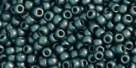 10 g TOHO Seed Beads 11/0 TR-11-0519 F - Higher-Metallic Frosted Teal Hematite (A,C)