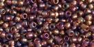 10 g TOHO Seed Beads 11/0 TR-11-1809 - Copper-Lined Rainbow Lt Amethyst