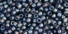10 g TOHO Seed Beads 11/0 TR-11-1820 - Inside-Color Rainbow Gray/Opaque Gray Lined