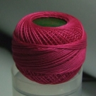 5g Spitzen-Häkelgarn Venus Stärke 70 N°em498 Cranberry Pink