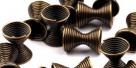 20 Stück Metallzwischenteile 8x11mm - Bronze