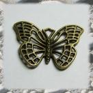 1 Schmetterling 26x18 mm - antikbronze