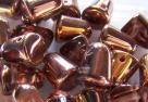 #06 - 10 Stck. Gum-Bead 7x10mm - crystal capri gold