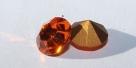 24 - 1 Stück Preciosa® OPTIMA Chaton SS39 (8mm) sun