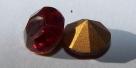 27 - 1 Stück Preciosa® OPTIMA Chaton SS39 (8mm) siam