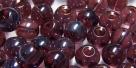 #07.00 25 Stück Perlen rund - amethyst hem. coating - Ø 6 mm