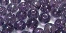 #10.00 25 Stück Perlen rund - tanzanite hem. coating - Ø 6 mm