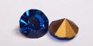 04 - 1 Stück Preciosa® Chaton SS29 (6,2mm) capri blue