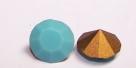 06 - 1 Stück Preciosa® Chaton SS29 (6,2mm) turquoise