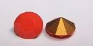 34 - 1 Stück Preciosa® Chaton SS29 (6,2mm) coral