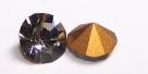 02 - 1 Stück Preciosa® Chaton SS29 (6,2mm) black diamond