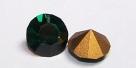 12 - 1 Stück Preciosa® Chaton SS29 (6,2mm) emerald