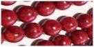 10 Schaumkorallekugeln poliert - Ø ca. 10-11 mm