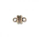 Magnetverschluss - 5x9 mm antique copper plate