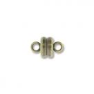 Magnetverschluss - 5x9 mm antique brass plate