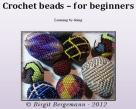 Basic course for crochet beaded beads as pdf file in english