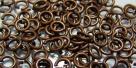 20 Stück Biegeringe 4x0,8mm dick - antikkupferfarben
