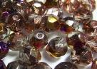 #02.0 25 Stück - 8,0 mm Glasschliffperlen - chrystal apollo