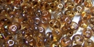 #91 10g Preciosa® TwinBeads chrystal travertin hemat.-coating