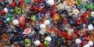10 g MATSUNO Seed Beads 11/0 Perlensuppe Magma