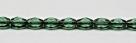 #08 - 30 Stück - 6*4mm Glasschliffperlen - Seafoam