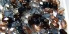 #07 - 30 Stück - 6*4mm Glasschliffperlen - Mischung