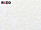 #02.01 10g Rizo-Beads opak matte chalk white