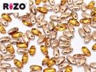#05.00 10g Rizo-Beads tr. topaz capri gold