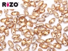 #01e 10g Rizo-Beads crystal capri gold