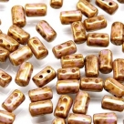 #09 10g Rulla-Beads opak chalk white senegal brown violet