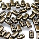 #16 10g Rulla-Beads opak jet dark copper metallic