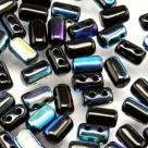 #19 10g Rulla-Beads opak jet AB