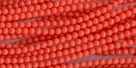 #36b 1 Strang - 4,0 mm Glasperlen - coral paint coating