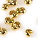 10 Stück Klappkugel ø 3 mm - gold - glatt