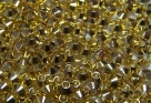 50 Stck. Metallspacer - Ø ca. 4mm - goldfarben