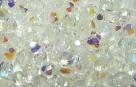 #02.3c 50 Stück - 3,0 mm Glasschliffperlen - crystal AB