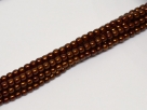 02010/14321 - 1 Strang Perlen Ø 2 mm rund - copper pearl-coating