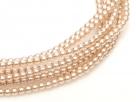02010/24215 - 1 Strang Perlen Ø 2 mm rund - desert sand pearl-coating