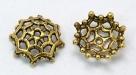 #07a - 1 Perlkappe Ø 14mm altgold