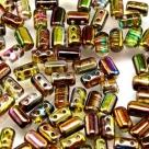 #05a 10g Rulla-Beads crystal magic yellow-brown
