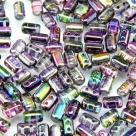 #05b 10g Rulla-Beads crystal magic violett-grey