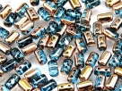 #24a 10g Rulla-Beads tr. aquamarine capri gold