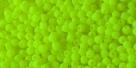 #51 - 50 Stck. Perlen Ø 2 mm rund - samtig neon gelb