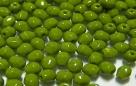 #09.4b 50 Stück - 3,0 mm Glasschliffperlen - opak dk olive