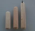 10 Stück Holzdübel ca. 8*50 mm (BxL) ungebohrt