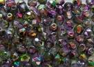 #99.10 50 Stück - 4,0 mm Glasschliffperlen - magic orchid